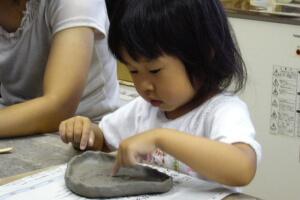 陶芸幼児コース体験